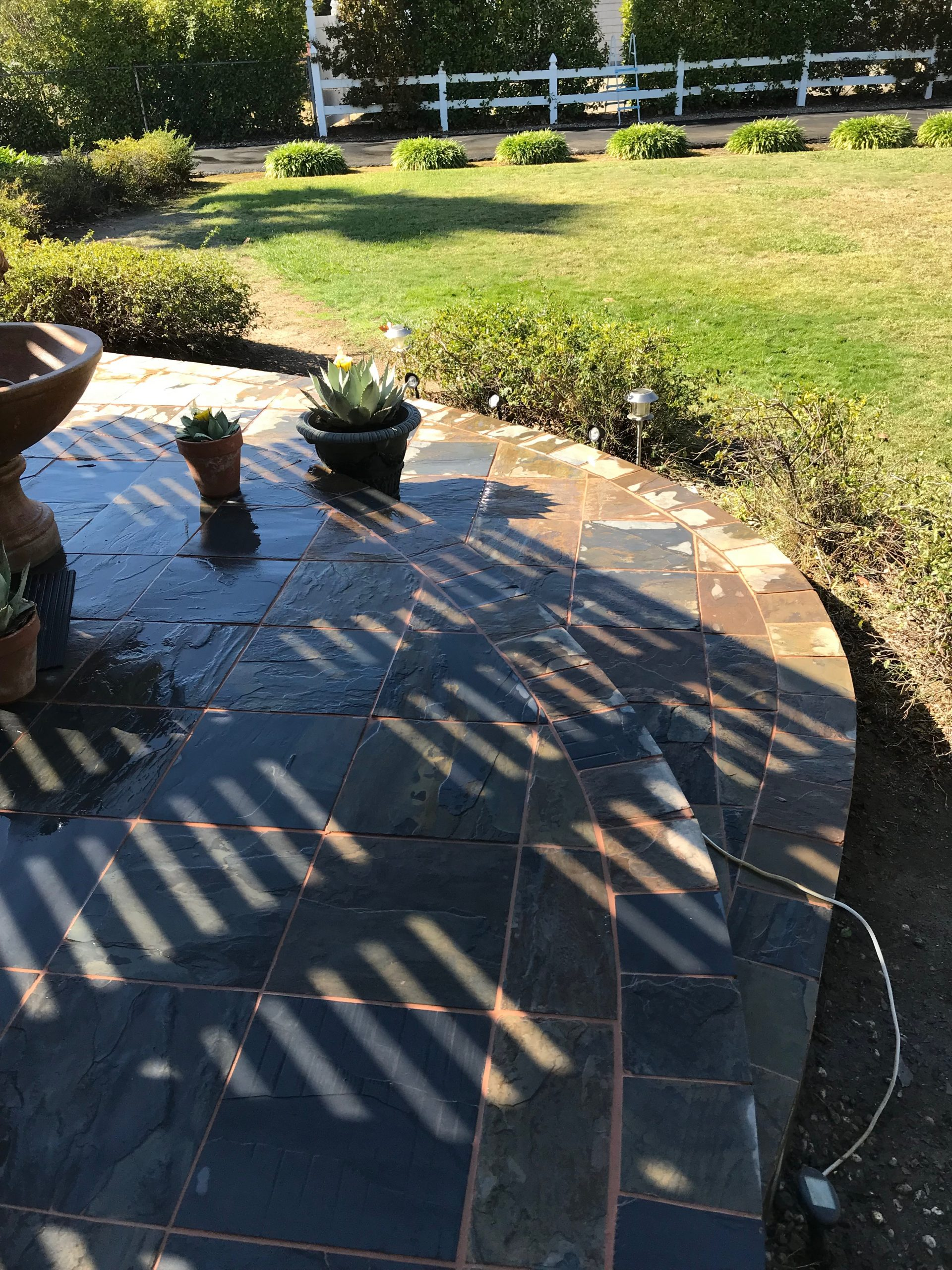 this is an image of brick pavers in Rancho Cucamonga