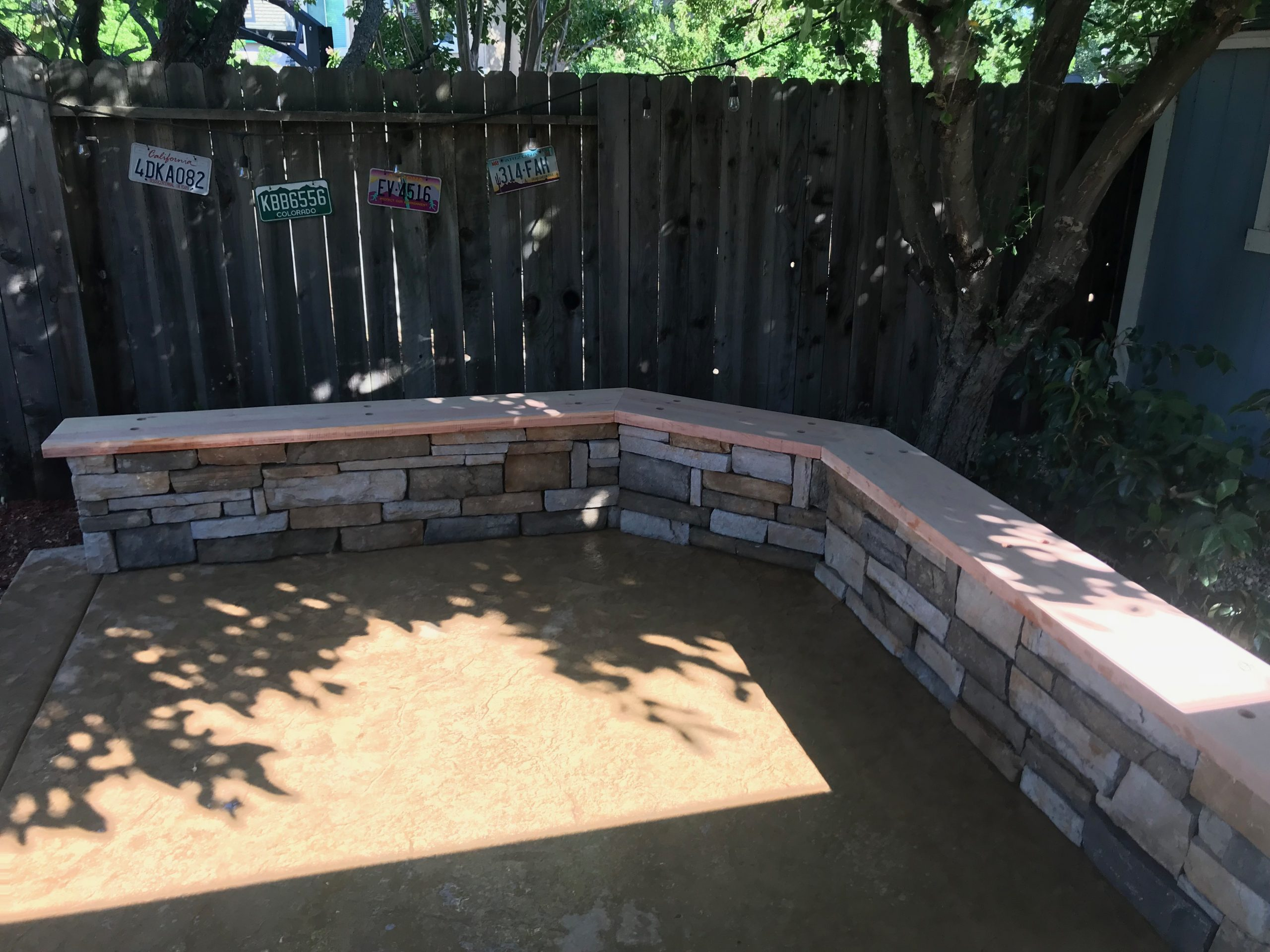 this is an image of decorative concrete in Rancho Cucamonga