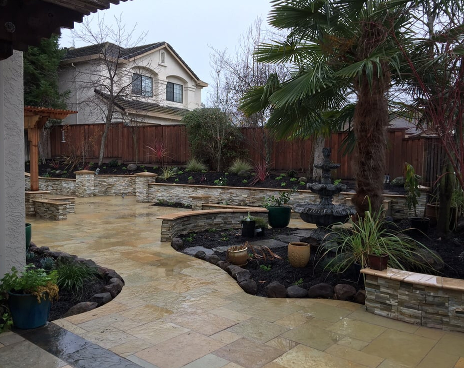 this is an image of stone pavers in Rancho Cucamonga