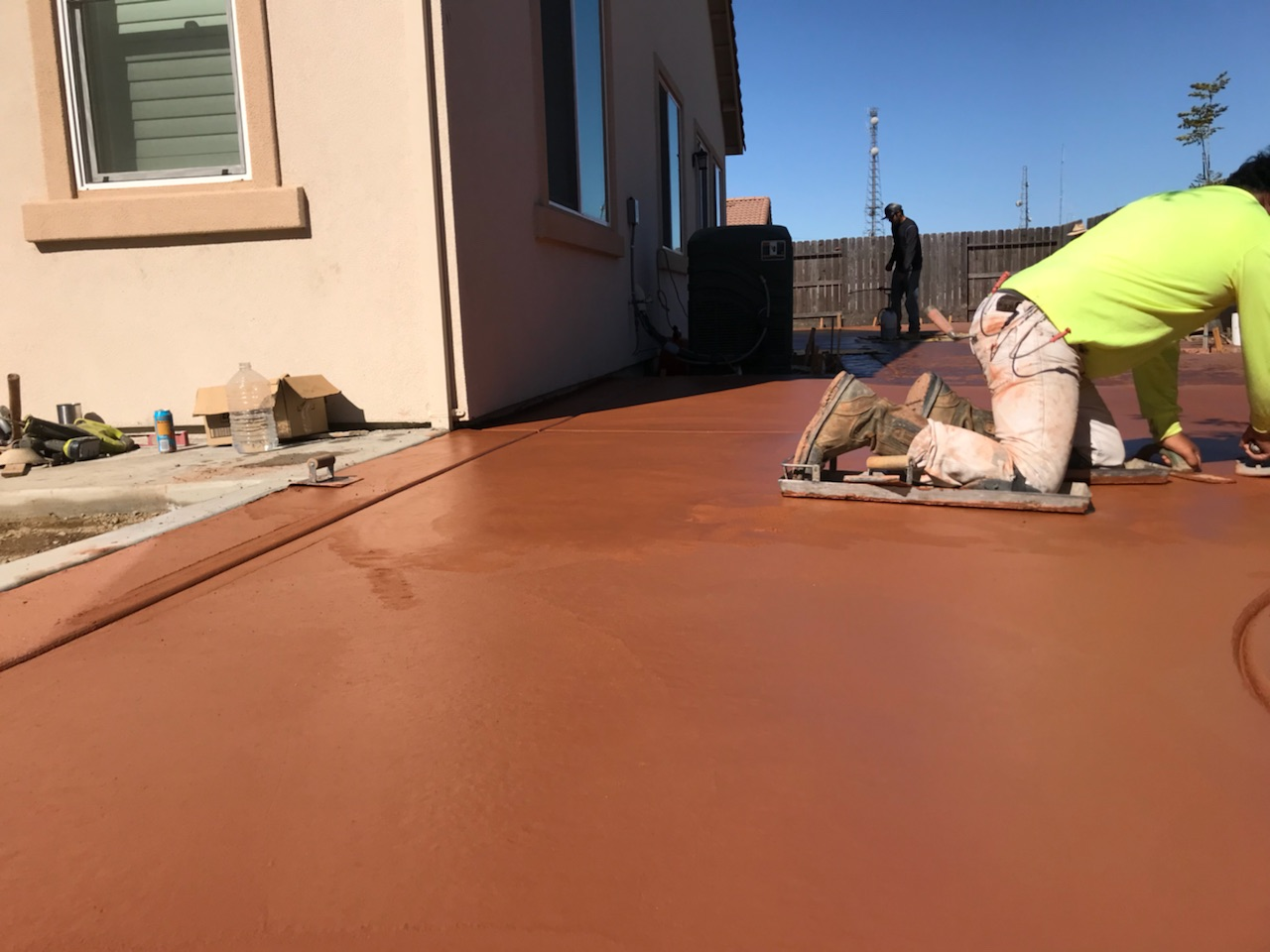 this is an image of concrete leveling in rancho cucamonga