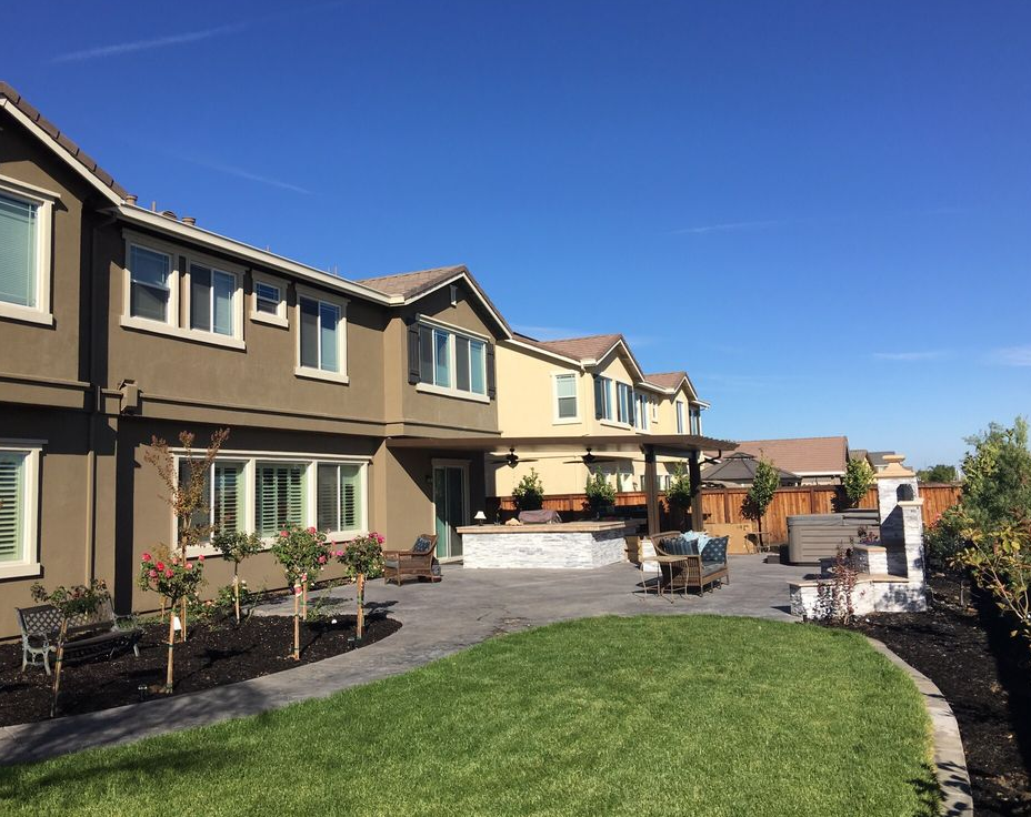 An image of turf installation in Rancho Cucamonga, CA