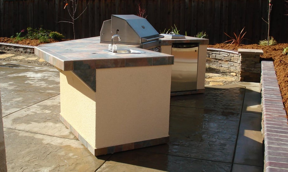 this image shows countertop in Rancho Cucamonga, California