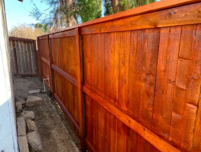 this image shows railroad tie retaining walls in Rancho Cucamonga, California